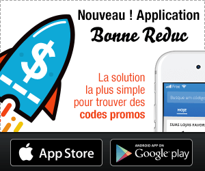 Application iOS / Android pour les codes promos