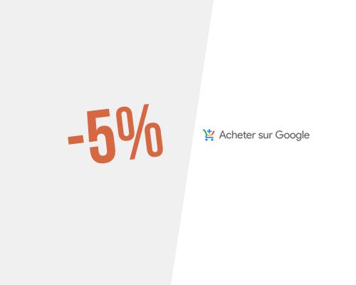 5% → Code promo Acheter sur Google pour juillet 2020