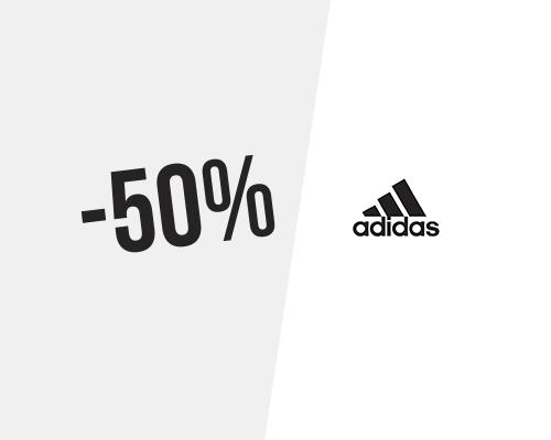 50% → Code promo adidas pour juillet 2020