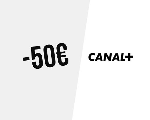 50€ de réduction sur votre abonnement 2 ans + frais d
