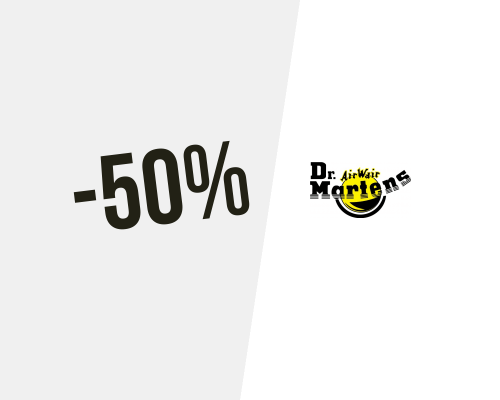 Code promo Dr Martens : 10% de promotion en Juillet 2020