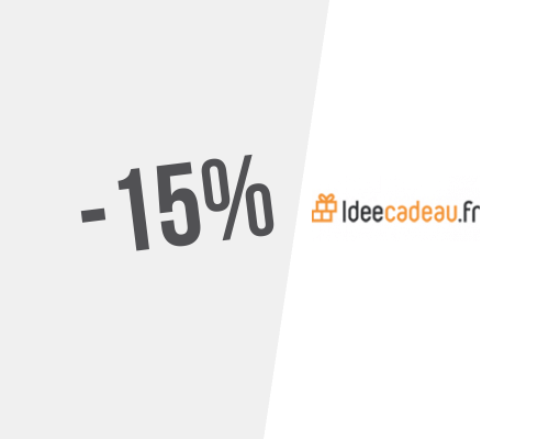 Code Promo Idée Cadeau 15% → Code promo Idée Cadeau pour septembre 2020