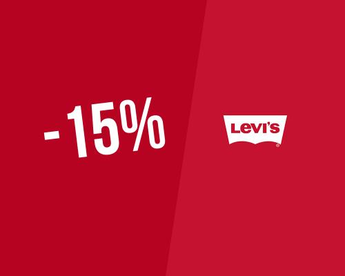 15% → Code promo Levi's pour novembre 2019